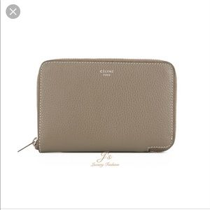 FINAL PRICE Authentic Celine small zip wallet